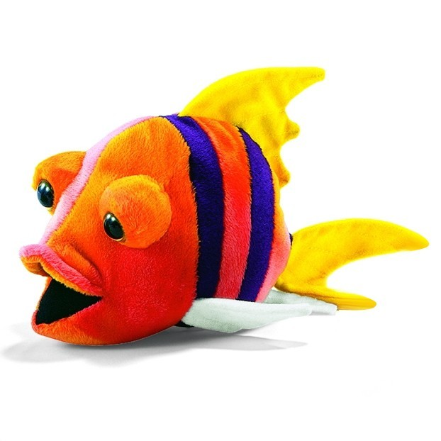 Theanimalplace fish 4 10 inches 2973 hansa realistic for Fish stuffed animal