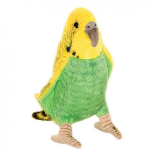 Theanimalplace Budgie Parakeet Yellow Green Bird 3653 Hansa