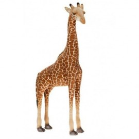 Giraffe - Ride-On 45 inch #2652 - Hansa Realistic Soft Toys & Plush Stuffed Animals