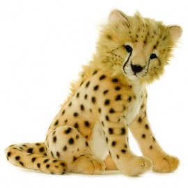 Baby Cheetah Cub 7 inches #2990 - Hansa Realistic Soft Toys & Plush Stuffed Animals