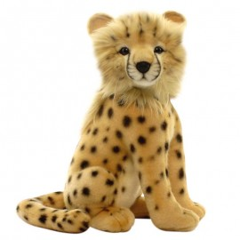 Baby Cheetah Cub #2992 - Hansa Realistic Soft Toys & Plush Stuffed Animals