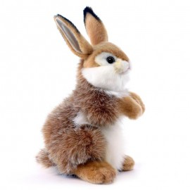 Baby Bunny Rabbit #3316 - Hansa Realistic Soft Toys & Plush Stuffed Animals