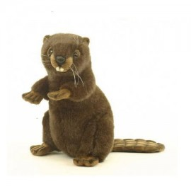 Beaver #3355 - Hansa Realistic Soft Toys & Plush Stuffed Animals