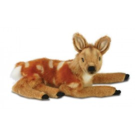 Baby Deer - Fawn #3412 - Hansa Realistic Soft Toys & Plush Stuffed Animals