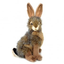 Blacktail Jack Rabbit #3754 - Hansa Realistic Soft Toys & Plush Stuffed Animals