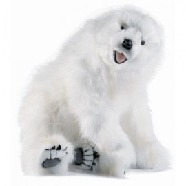 Baby Polar Bear Cub #3935 - Hansa Realistic Soft Toys & Plush Stuffed Animals