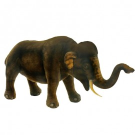 Asian Elephant #4892 - Hansa Realistic Soft Toys & Plush Stuffed Animals