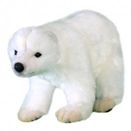 Baby Polar Bear Cub #5258 - Hansa Soft Toys & Plush Stuffed Animals
