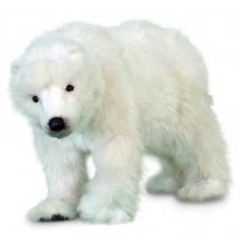 Baby Polar Bear Cub #5259 - Hansa Realistic Soft Toys & Plush Stuffed Animals