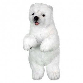 Baby Polar Bear Cub #5303 - Hansa Soft Toys & Plush Stuffed Animals