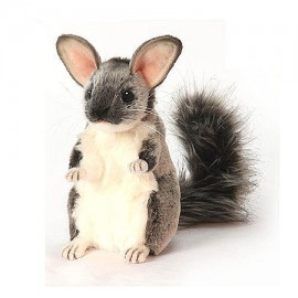 Chinchilla - Chauncey #5978 - Hansa Realistic Soft Toys & Plush Stuffed Animals