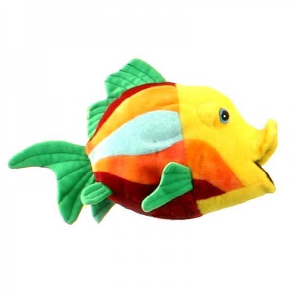 Theanimalplace fish 5 10 5 inches 2975 hansa for Fish stuffed animal